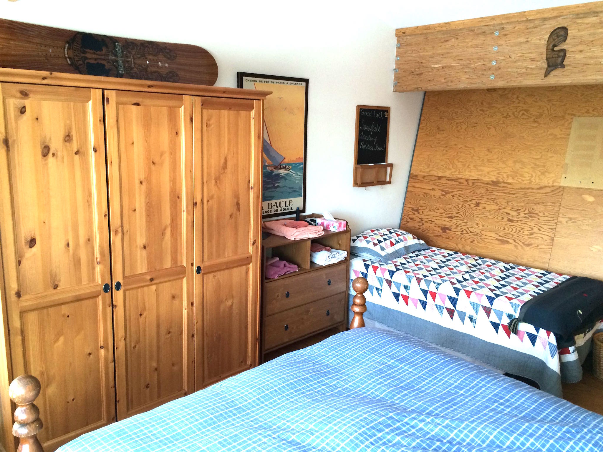 Wilson Natural Home Adventure Fanatic Bedroom