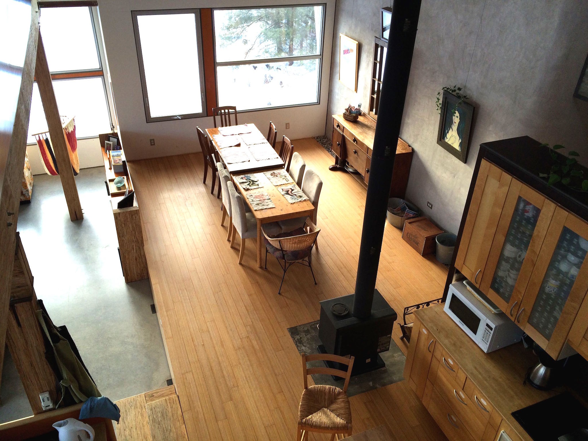 Wilson Natural Home Dining Area