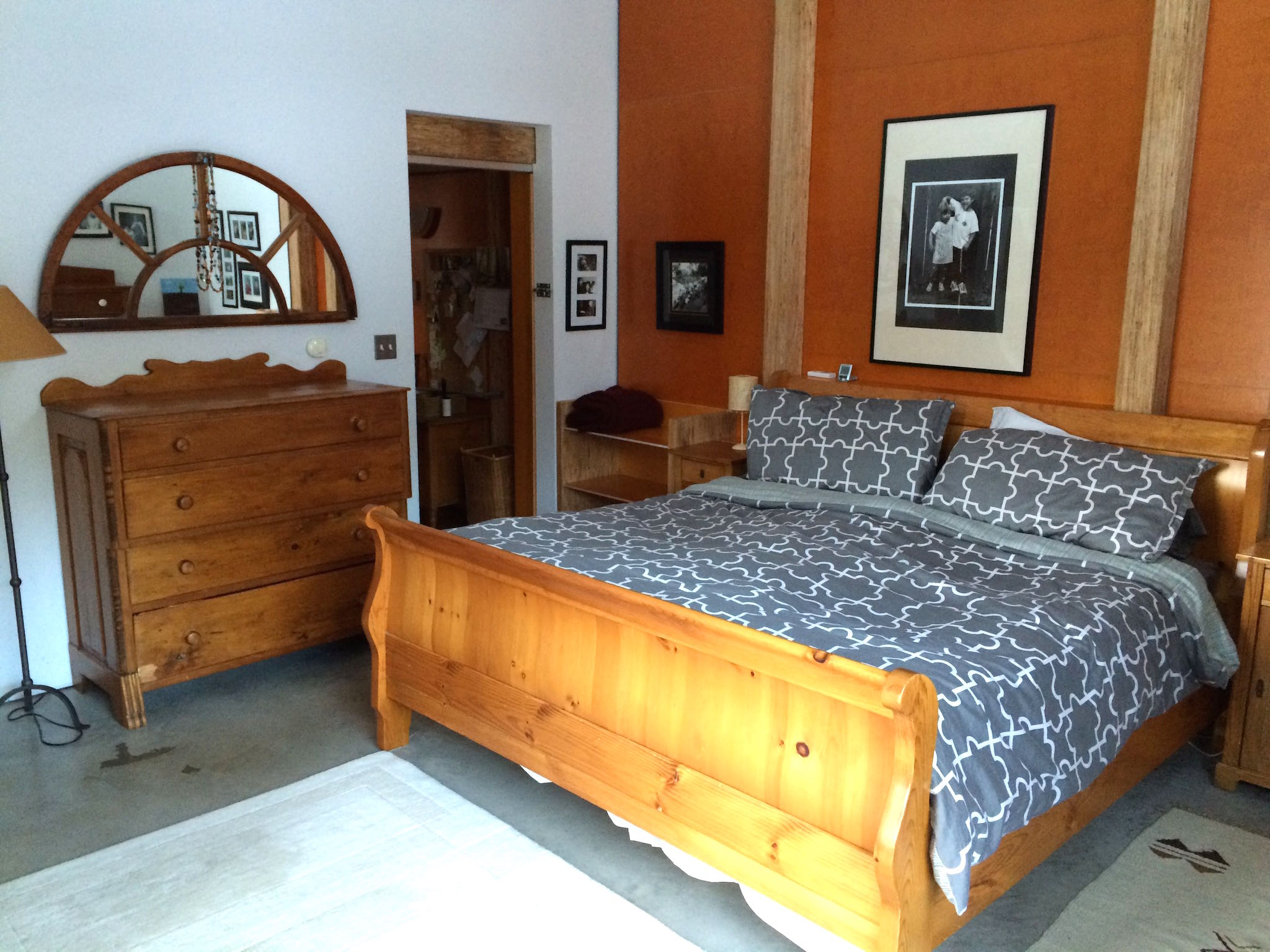 Wilson Natural Home Master Bedroom